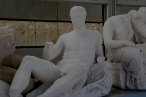 Plaster Dionysius in Athens