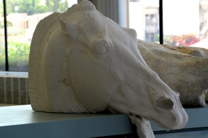 Plaster Horse from Selene's Chariot, Athens
