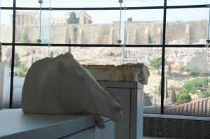 The Plaster Model with the Parthenon in View