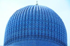 Dome over Timur's Mausoleum