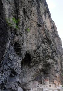 The cave proper.