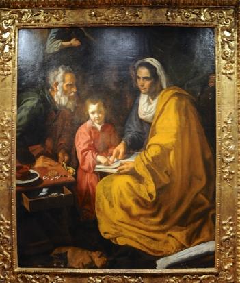 Velazquez 'Education of the Virgin'