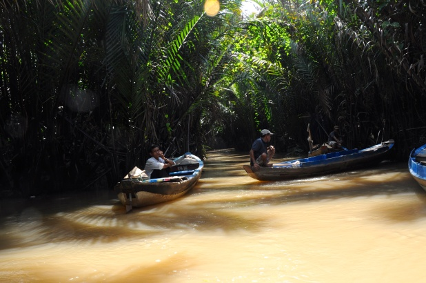 Departure into a Stream to the Mekong