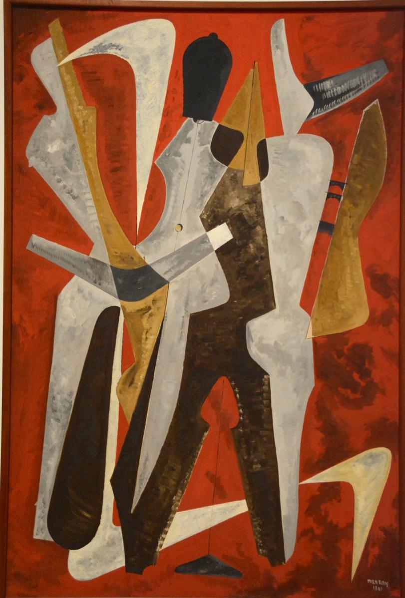 man ray, promenade, 1941